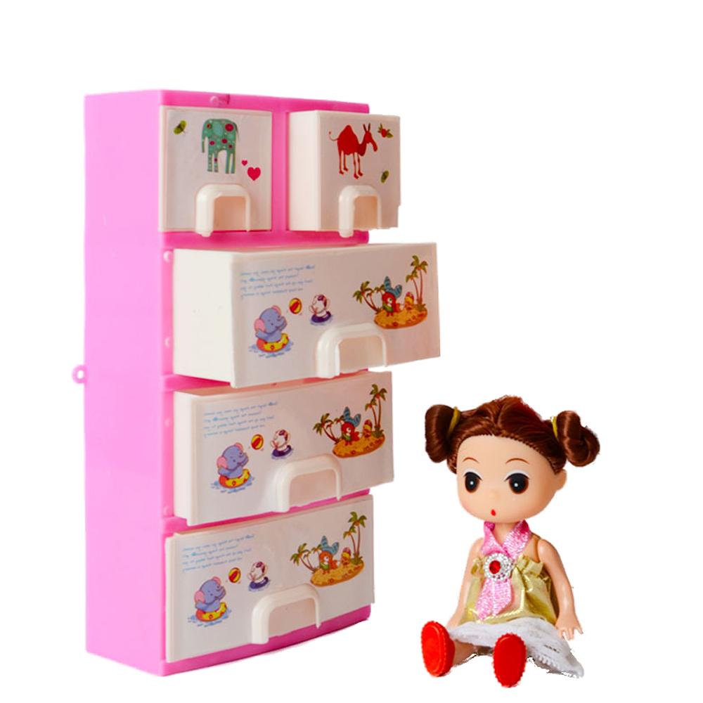 ... Garderobe Voor Barbie Pop Meisjes Speelgoed Prinses Slaapkamer Meubels