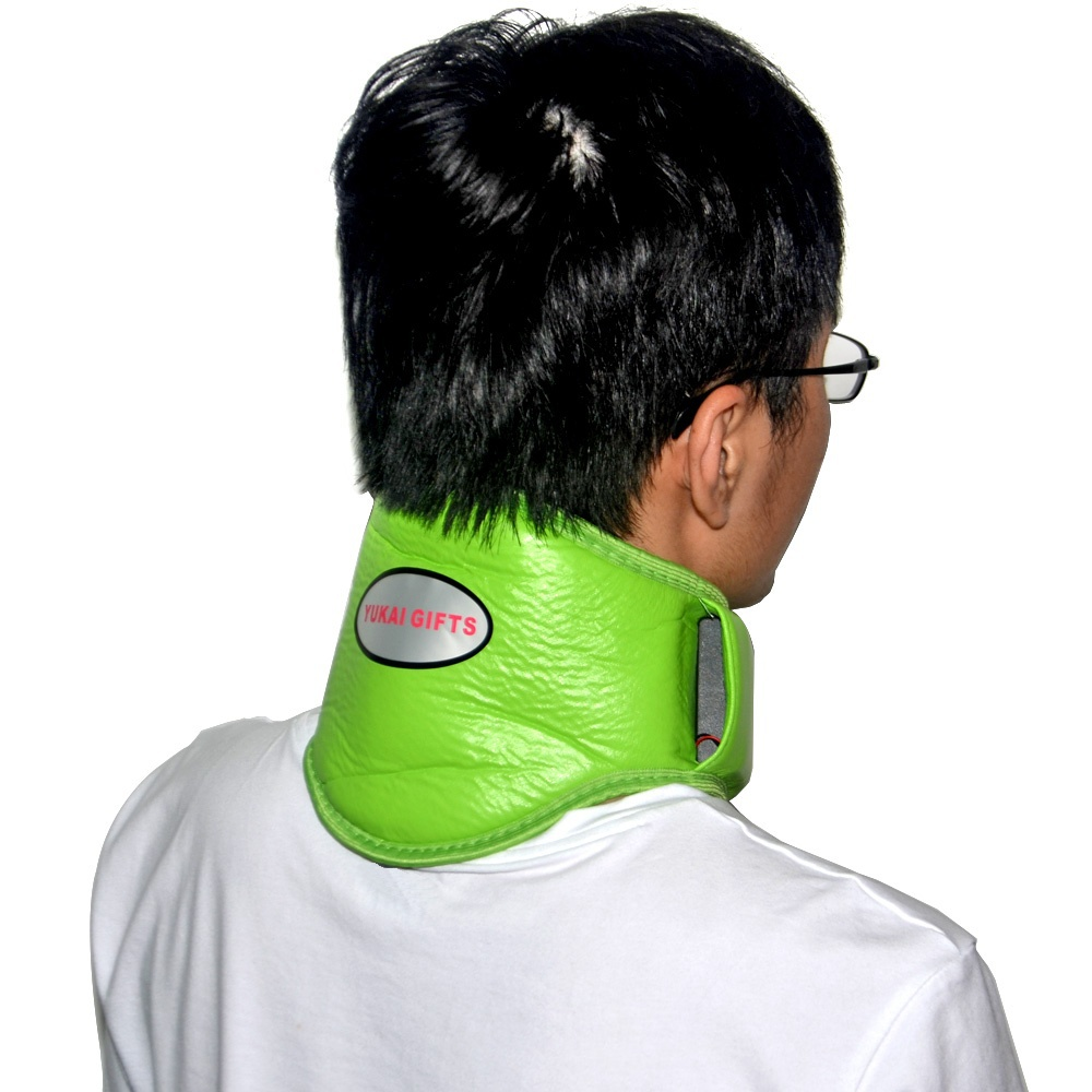 New Hot sale Magnetic Therapy Neck Massager Belt Cervical Vertebra Protection Vibration Tapping Belt Body Massager Health Care<br><br>Aliexpress