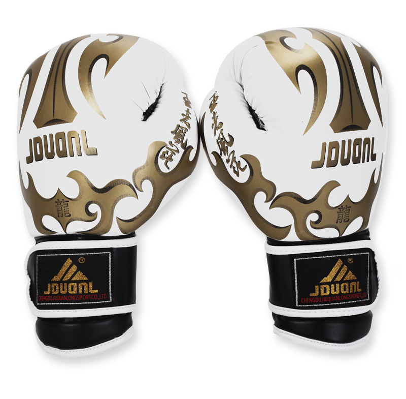 2015 New Brand 10 oz MMA Adult Boxing Gloves Top Quality PU Leather MMA Fighting Boxing Gloves Competition Training Gloves(China (Mainland))