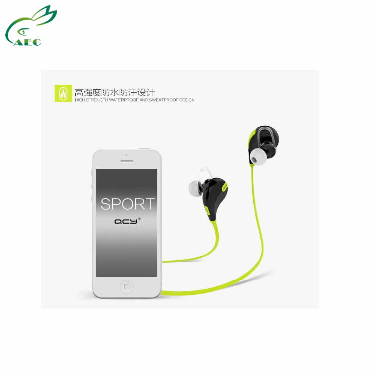 Shenzhen China Sports Headphone Manufactuer Provide QCY QY7 Original Sports Earphone Earbuds(China (Mainland))