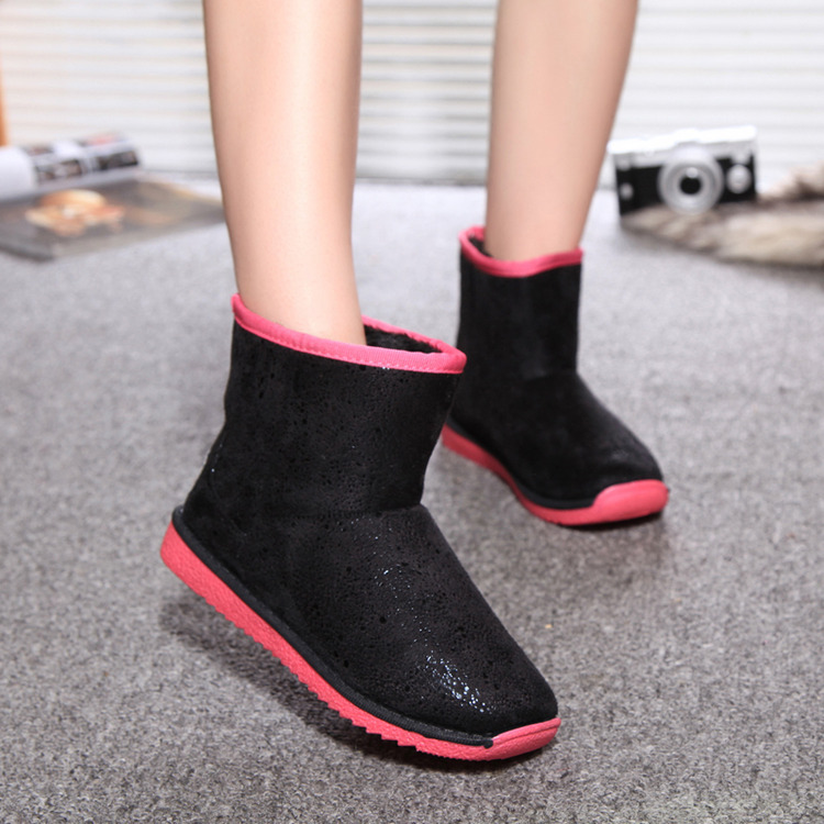 In the winter of 2015 new authentic fashion boots with a warm flat shoes female boots<br><br>Aliexpress