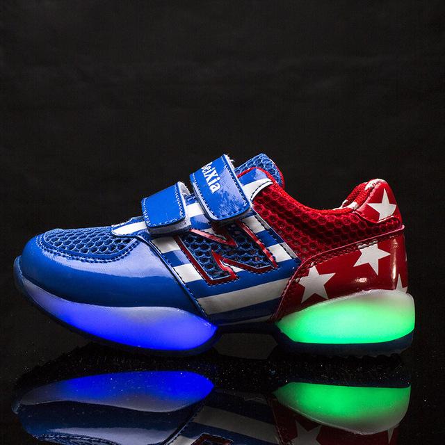 2015 Новый мальчик и девочка дети кроссовки кроссовки дети enfant chaussure спорт ...