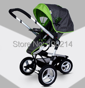 Здесь можно купить  Fast Delivery Popular 3 In 1 Folding Strollers Top Quality Baby Carrier Stroller With Safety Car Seat Three Colors Is In Stock  Детские товары