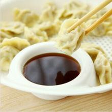 Large plastic dish with vinegar dumplings dish draining versatile two layer disc eat dumplings dish fruit