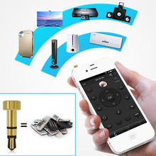 2015 new for iphone/ipad/Touch Portable mini Pocket Mobile Phone Smart IR Remote Control For Air Conditioner TV DVD Projector