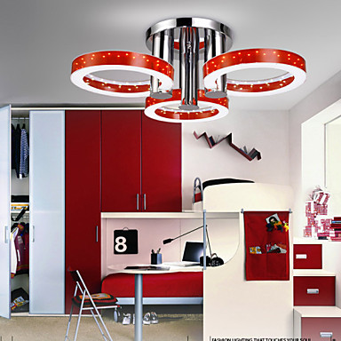 modern pendant light Round Acrylic 108 X 5730 LED SMD Ceiling Lamp Pendant Lights Free shipping<br><br>Aliexpress