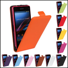 Buy Sony Xperia Z L36h Genuine Leather Flip Case Cover Mobile Phone Bag Shell Sony Xperia Z L36h c6603 for $3.52 in AliExpress store