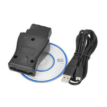 Consult 14pin USB Interface Auto Diagnostic Tool OBD2 Cable Connects to PC via RS232 14pin Consult interface