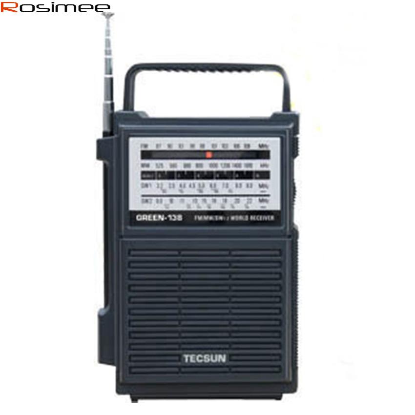 Original TECSUN AM/FM/SW Hand Crank Rechargeable Radio GR-138 GR138 Digital Receiver Portable Radio Hand Power Generation Radio(China (Mainland))