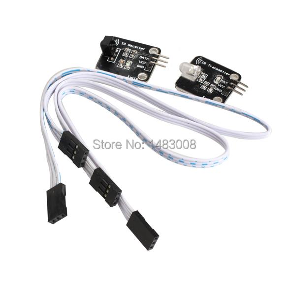 Гаджет  2PCS Digital 38KHz Infrared IR Sensor Transmitter Kit for Arduino High Quality None Бытовая электроника