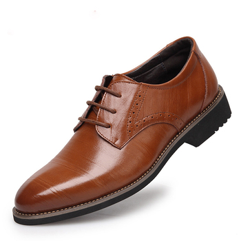 NEW Brand 100% Genuine Leather Men Oxfod Shoes, Lace-Up Casual Business Men Shoes, Brand Men Wedding Shoes, Men Dress Shoes