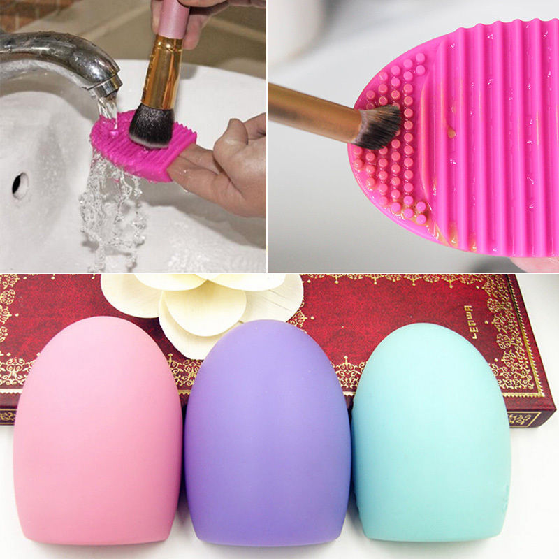 1 PCS Silicone Cleaning Cosmetic Makeup Brush gel Cleaner Scrubber Tool Foundation(China (Mainland))