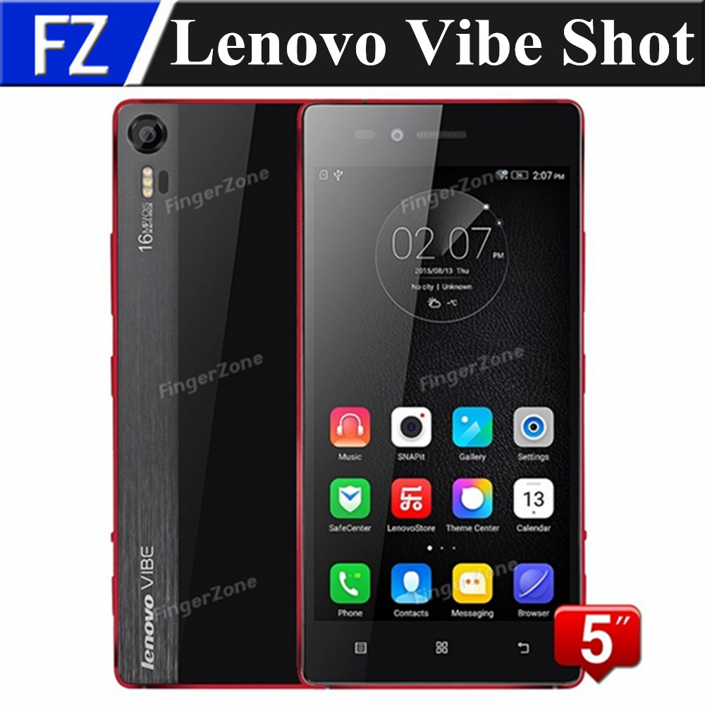 "Original LENOVO VIBE SHOT Z90-7 5.0"" Gorilla Glass FHD MSM8939 Octa Core Android 5.0 16MP 3GB RAM 32GB ROM 4G LTE smartphone GPS(China (Mainland))"