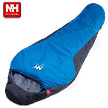 NatureHike Portable Multifuntional Ultralight Mini nylon mummy shape Outdoor Camping Travel Hiking Sleeping Bag 1100g 2 Colors(China (Mainland))