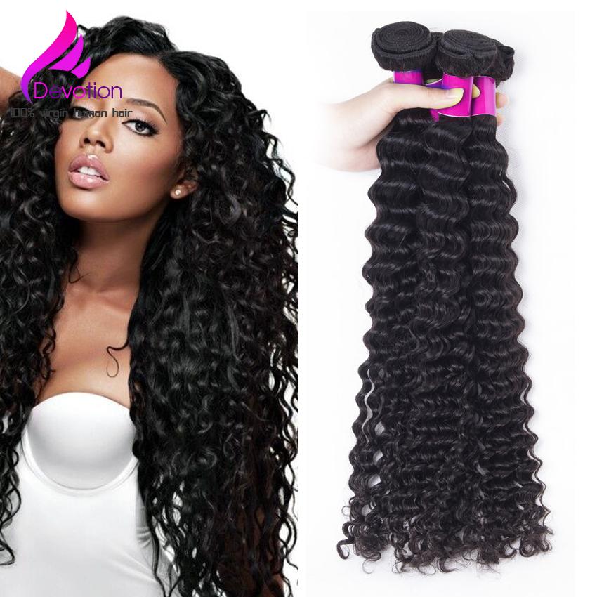 100% Human Hair Weaving Peruvian Deep Curly Virgin Hair Peruvian Deep Wave 3Bundles Lot Peruvian Curly Hair Natural Black<br><br>Aliexpress