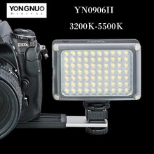 Buy YONGNUO YN0906 II LED Video Light 54 LED Lamp Lights Photographic Lighting Photo Studio Canon Nikon DSLR Camera Camcorder for $43.00 in AliExpress store