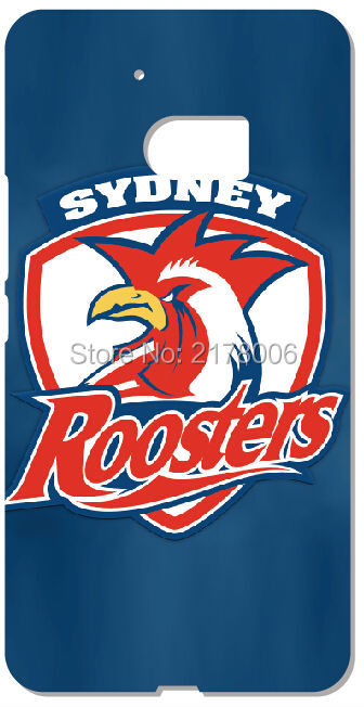 Retail NRL Sydney Roosters Plastic Hard Phone Cover For HTC one X M7 M8 Mini M9 Plus M10 E8 A9 Desire 510 eye M910x Mobile Case(China (Mainland))