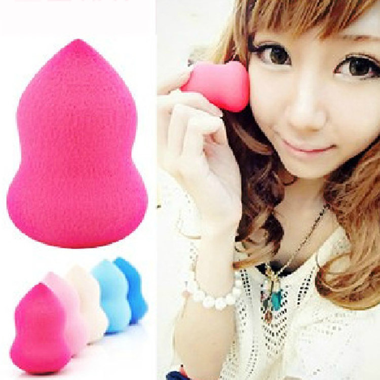 free shipping Makeup Foundation Sponge Blender Blending Cosmetic Puff Flawless Powder Smooth Beauty Make Up Tool