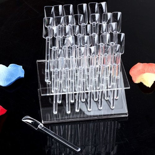 HOT Selling 32 Stick Display Stand Rack Practice Tool Nail Art Tips + - Blingway Care products Co., Ltd. store