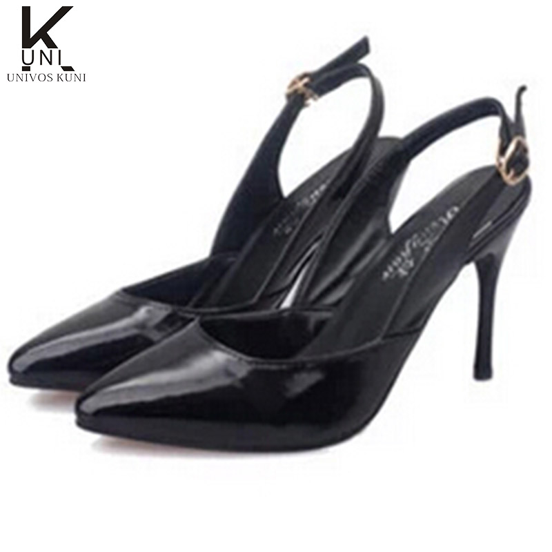 Stock Clearance shoes point toe Woman's Pumps 2016 summer PU Patent leather dress shoes for women wholesale DROP shipping DX436(China (Mainland))