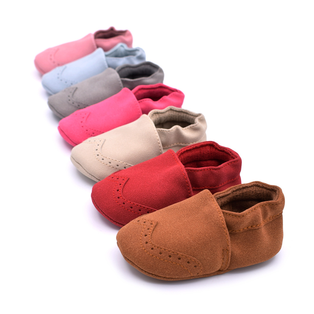 ROMIRUS Baby Boys Soft Soled Crib Spring Autumn Babe Shoes Causal Fashion New Brand Solid Infant Girls First Walkers 0-18M