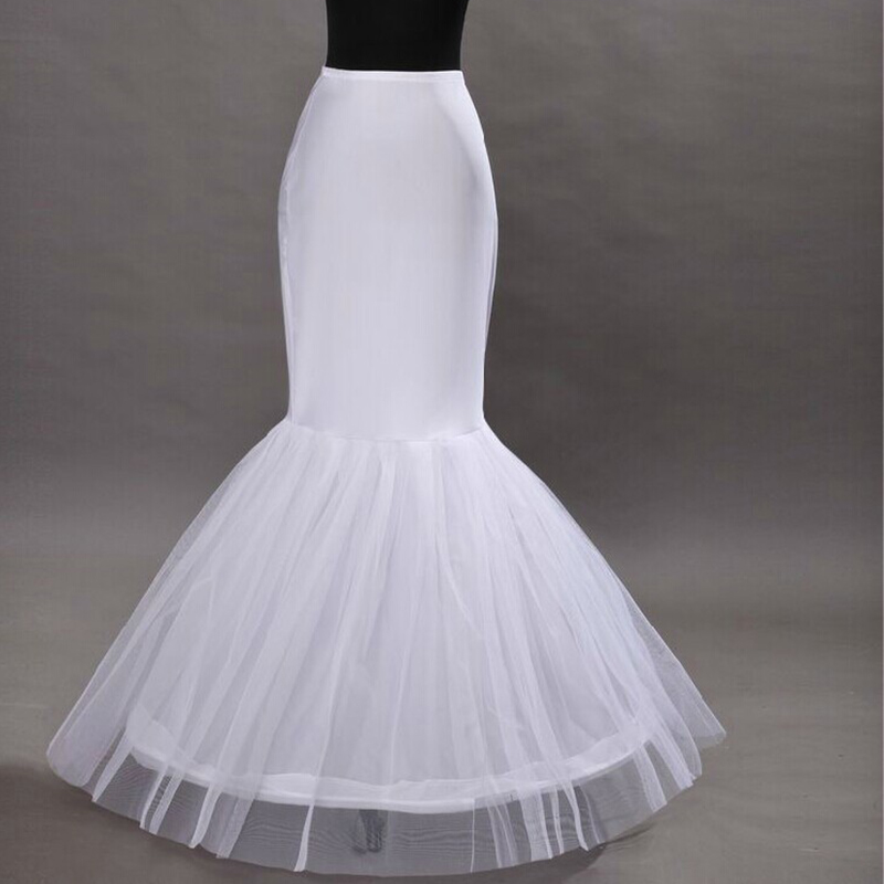 Hot Sale Cheap 2015 Mermaid Wedding Petticoat Bridal Accessories Underskirt Crinoline Petticoats