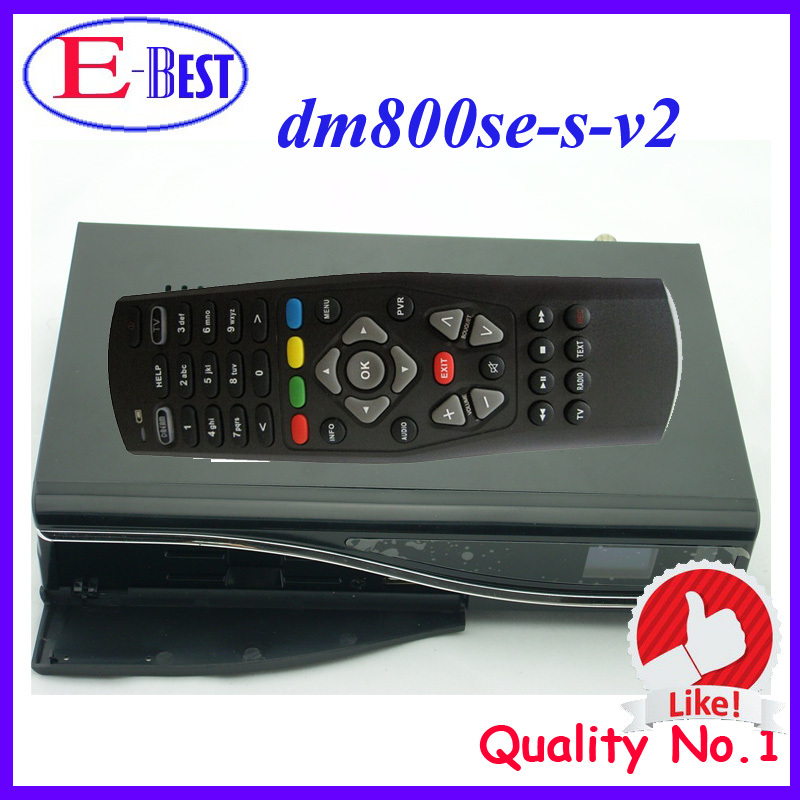 Lower Price DM800se V2 Satellite TV Receiver DM800HD se V2 SIM2.20 1GB Flash 521MB RAM HbbTV and Web browser Enigma 2 Linux OS(China (Mainland))