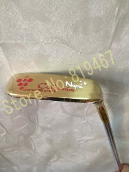 клюшка для гольфа California 34/35 1 putter golf putter steel color tour only 2 33 34 35 inch high quality cnc putter free shipping