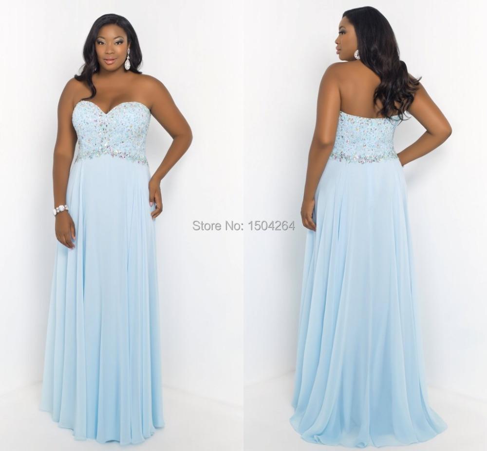 Light Blue Dress Plus Size Dress On Sale