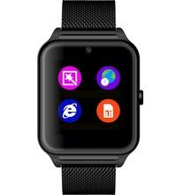 Wz60 умный часы наручные часы Bluetooth NFC камеры Smartwatch шагомер GSM TF карта сидячий напомнить для Android и iOS телефон