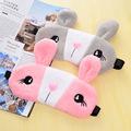 Relaxing Cooling Cute Rabbit Sleeping Eye Sleep Masks Deep Sleep Silk Gel Shade Eyepatch Eye Mask