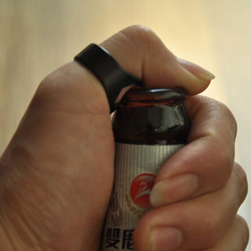 10pcs Stainless Steel Finger Ring Bottle Opener Beer Bar Tool(China (Mainland))