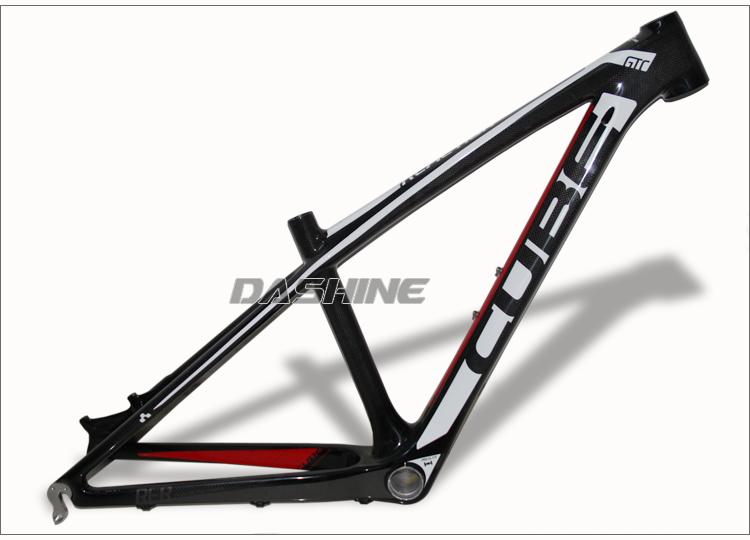 Здесь можно купить  black white red color original band MTB  bicycle 26er cube carbon frame black white red color original band MTB  bicycle 26er cube carbon frame Спорт и развлечения