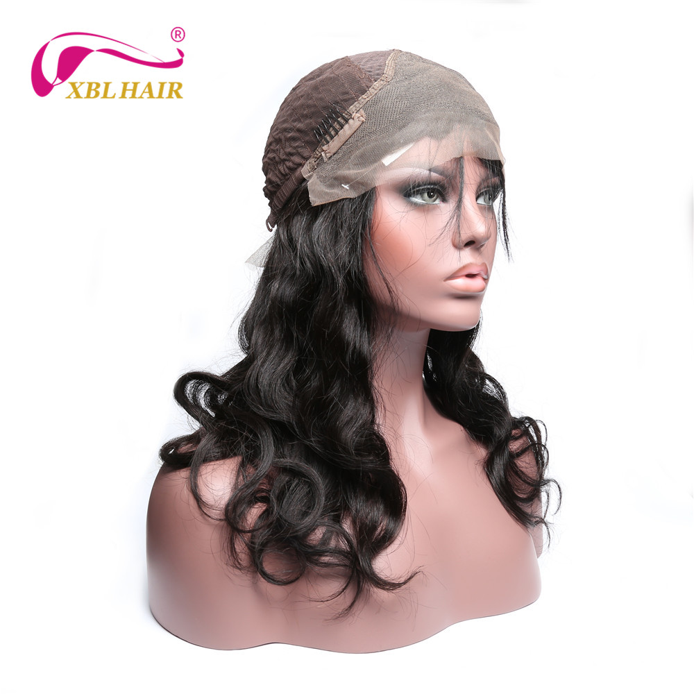XBL HAIR Lace Front Wigs For Black Women Body Wave Human Hair Brazilian Remy Hair Free Shipping