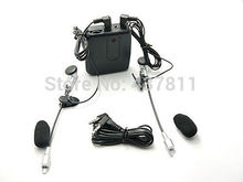 Hot Sale!! Motorbike Motorcycle Helmet To Helmet Intercom Headset MP3 Drop Shipping Free shipping #730