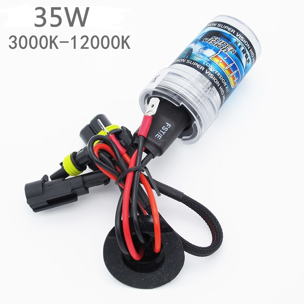 35W Xenon HID Bulb Lamp DC 12V Auto Car H1 H3 H7 H11 9005 9006 Xenon Headlight 3000K 4300K 5000K 6000K 8000K 10000K 12000K(China (Mainland))