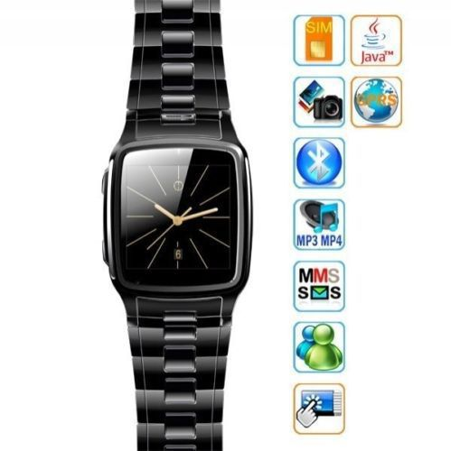 "Bluetooth Smart Watch Cell Phone TW810B Quad Band Camera GPRS Java 1.54"" Touch Screen Smart Watch mobile phone wristwatches(China (Mainland))"