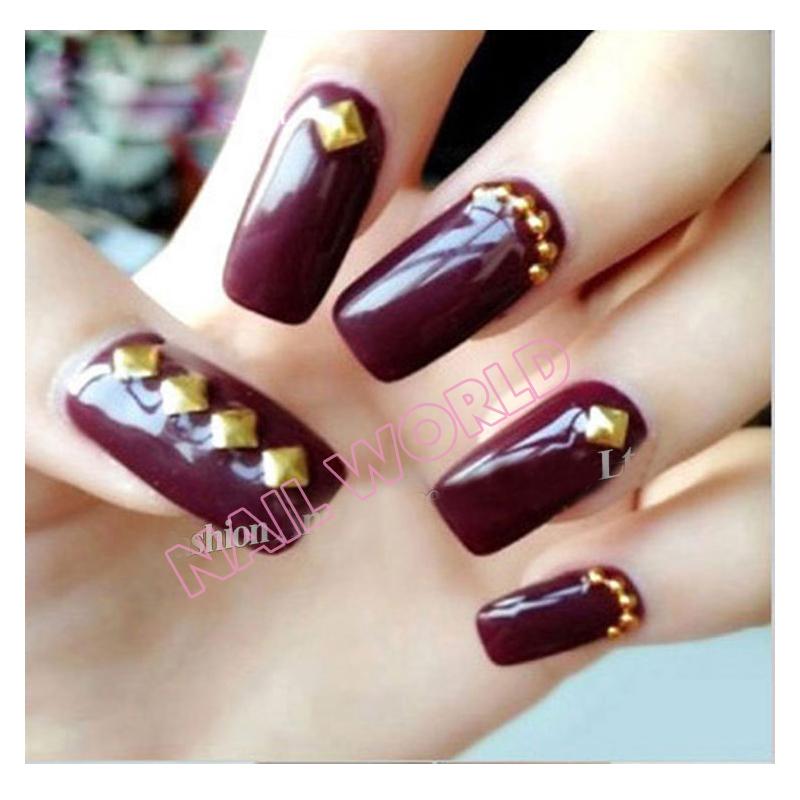 Gold nail art studs choice image nail art and nail design ideas gold nail art studs choice image nail art and nail design ideas metal nail art studs prinsesfo Images