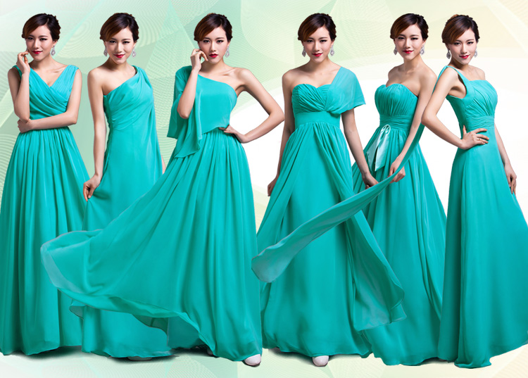 Customized turquoise mint green purple gold coral sexy for Mint and gold wedding dress