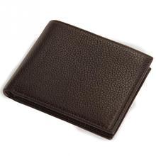 Wallet Men Leather Wallets Male Purse Money Credit Card Holder Genuine Coin Pocket Brand Design Money Billfold Maschio Clutch(China (Mainland))