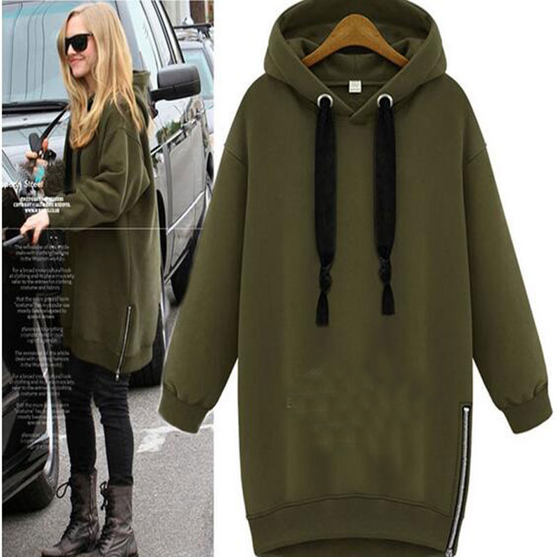 Maternity Autumn And Winter Clothing Pregnant Women Outerwear Plus Size Hoodie Thermal Sweatshirt Hood Long Sleeve For Gravida