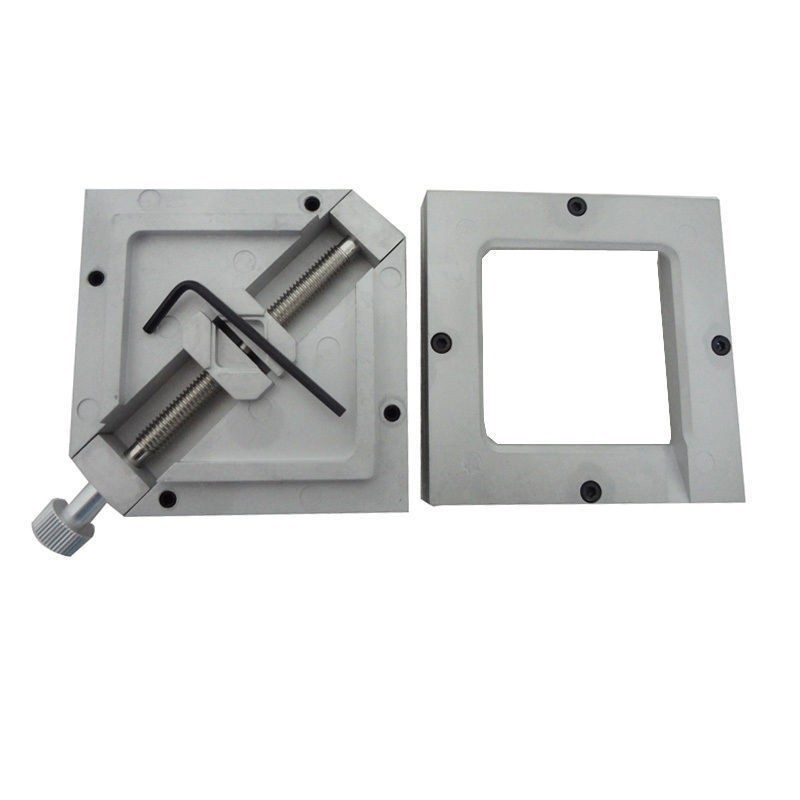 HT-80 Silver BGA Reballing Station 80*80mm Stencils Template Holder Jig For PCB Chip Soldering Rework Repair(China (Mainland))
