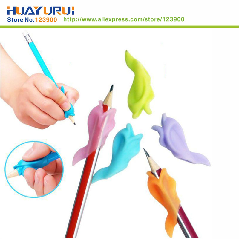 Free Shipping 5pcs gift Dolphin fish Wobi child children students hold a pen writing posture correction with Wobi posture toys(China (Mainland))