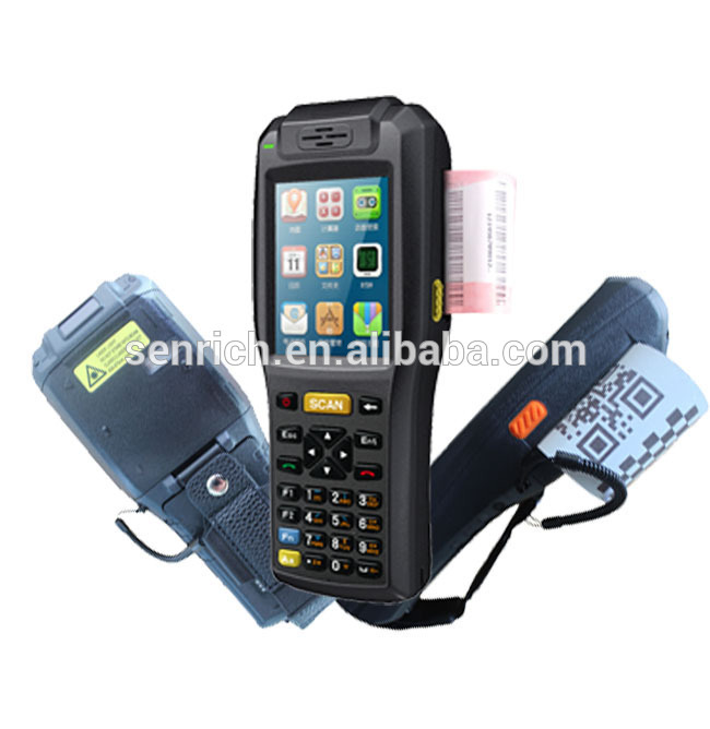 PDA with bluetooth, 1D/2D laser barcode scanner(Optional),58mm thermal label printer,WiFi,RFID(Optional)(China (Mainland))