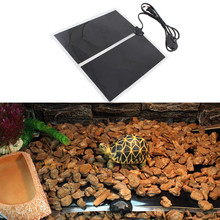 Free Shipping Adjustable 14W Temperature Reptile Heating Pad Heater Pet Amphibians Warm Heat Bed Mat Rugs 5 4004-787(China (Mainland))