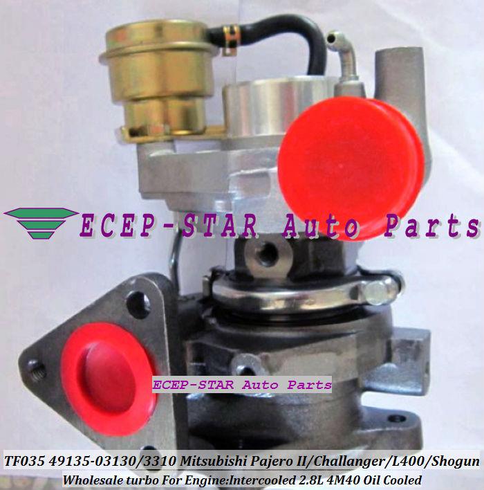 TF035-12T-4 49135-03130 49135-03310 Turbo Turbocharger Fit For Mitsubishi Pajero II Challanger L400 Shogun Intercooled 4M40 2.8L(China (Mainland))