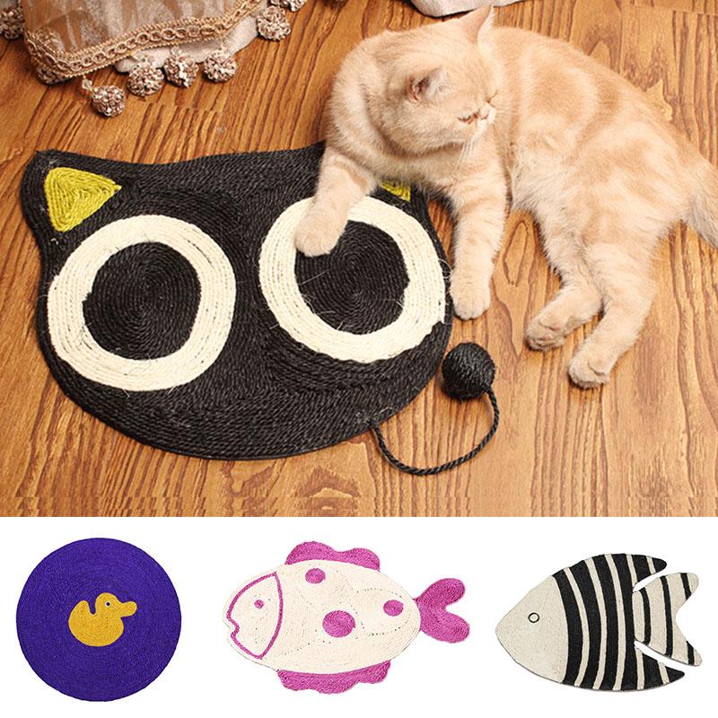 Cartoon Style Cat Scratcher Pad
