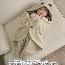 Velveteen blanket baby newborn multifunctional styling package out blanket spring autumn trolley blanket  sleeping bag keep warm