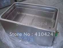 100% orginal stainless steel Industrial Ultrasonic Cleaner JP-080S 110v / 220V 22L Cleaning Machine with Free Basket (China (Mainland))