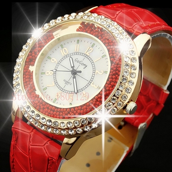 New Design Top Brand Women Dress Watch Analog Luxury Sports Leather Watch Fashion Womens Quartz Watch Montre Femme montre SB1213